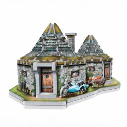 Puzzle Wrebbit 3D Harry Potter Cabaña de Hagrid (0512)