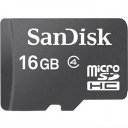 Memoria Micro SD 16GB Sandisk c/adapt. Class 4