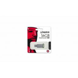Pendrive 16GB Kingston 3.0 DataTraveler 50M/Verde