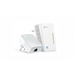 Adaptador TP-Link Powerline Extender 300Mbps (TL-WPA4220KIT)