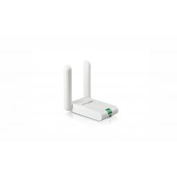 Tarjeta Red TP-Link Wi Fi USB 300Mbps Largo Alcance (TL-WN822N)