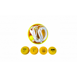 Auricular Emoji c/Estuche T-28