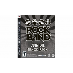 Juego PS3 Rock Band Metal Track Pack