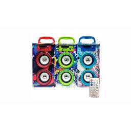Parlante Portatil Ledstar Bluetooth KTS-450
