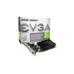 Tarjeta Video 2GB Geforce GT730 EVGA DDR3