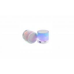 Parlante Ledstar Portable Mini Bluetooth c/Luz