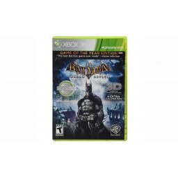 Juego XBOX360 Batman Arkham Asylum
