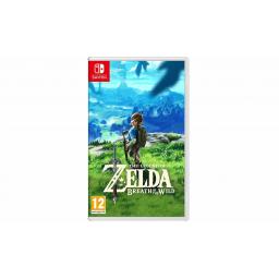 Juego Nintendo Switch Legend of Zelda Breath of Wild