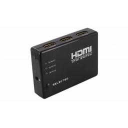 Switch HDMI 3 Entradas c/control