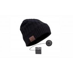 Gorra Lana Xenex Bluetooth HeadPhone XW-BEANIEBT02 Negro/Beige