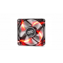 Cooler Deep Cool c/Red Led 80x80