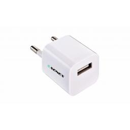 Cargador Xenex USB (XM-CHA5V2A) Negro/Blanco