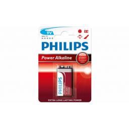 Pila Philips 9V Alcalina
