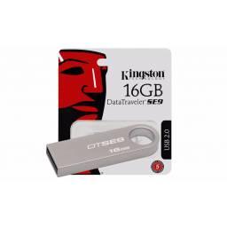 Pendrive 16GB Kingston 2.0 DataTravelerSE9 Metal