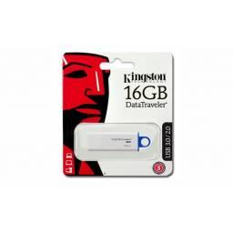 Pendrive 16GB Kingston 3.0 DataTraveler DTIG4 Azul
