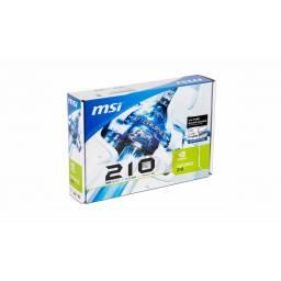 Tarjeta Video 1GB MSI Geforce GT210 DDR3