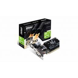 Tarjeta Video 2GB MSI Geforce GT 710 DDR3