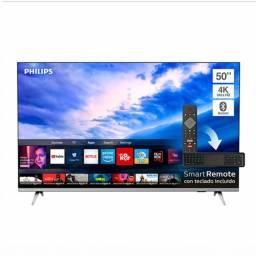 TV LED 50´´ Philips UHD Smart 4K (50PUD665455)