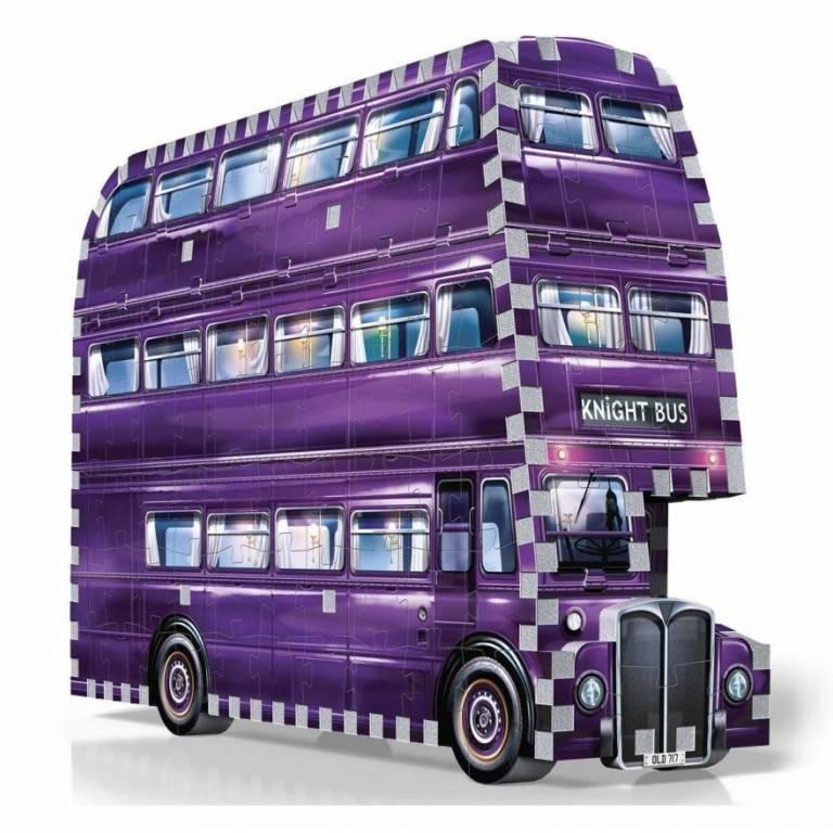 Puzzle Wrebbit 3D Harry Potter Bus Noctambulo (0507)