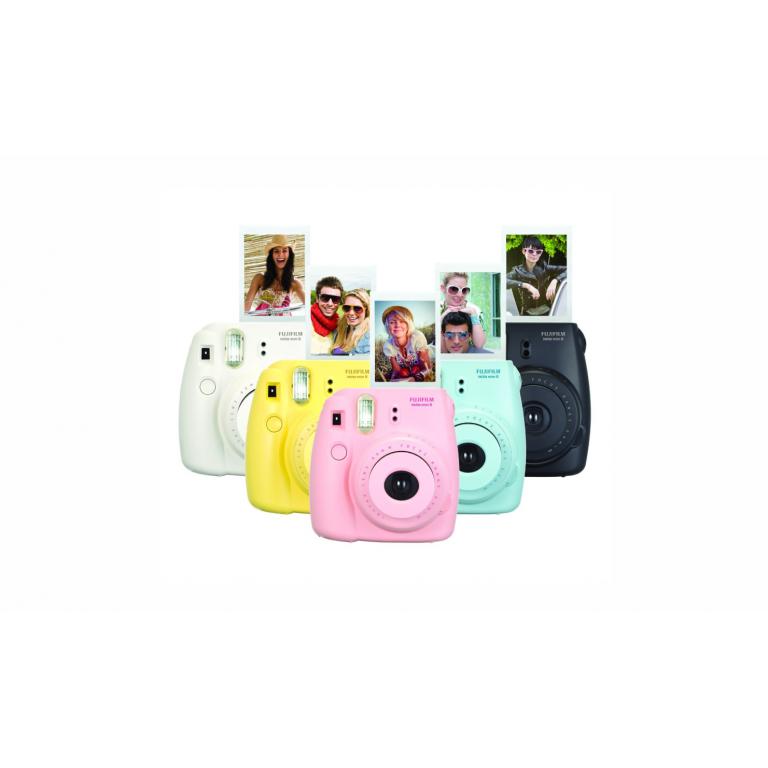 Camara Instantanea Foto Fuji Instax Varios Colores + Rollo
