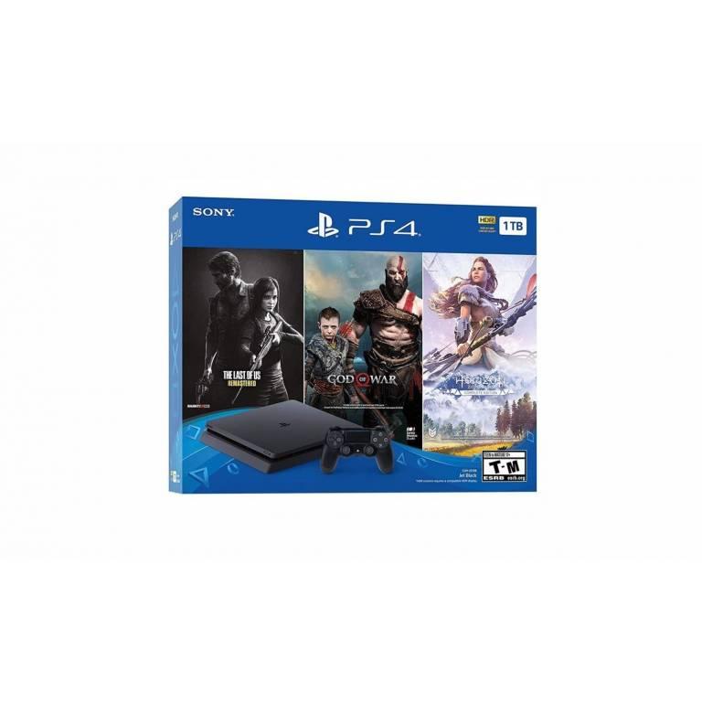 Playstation 4 1TB Bundle + 1 Joystick + 3 Juegos