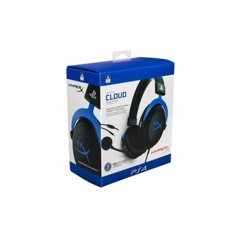 Auricular PS4 HyperX Cloud Blue
