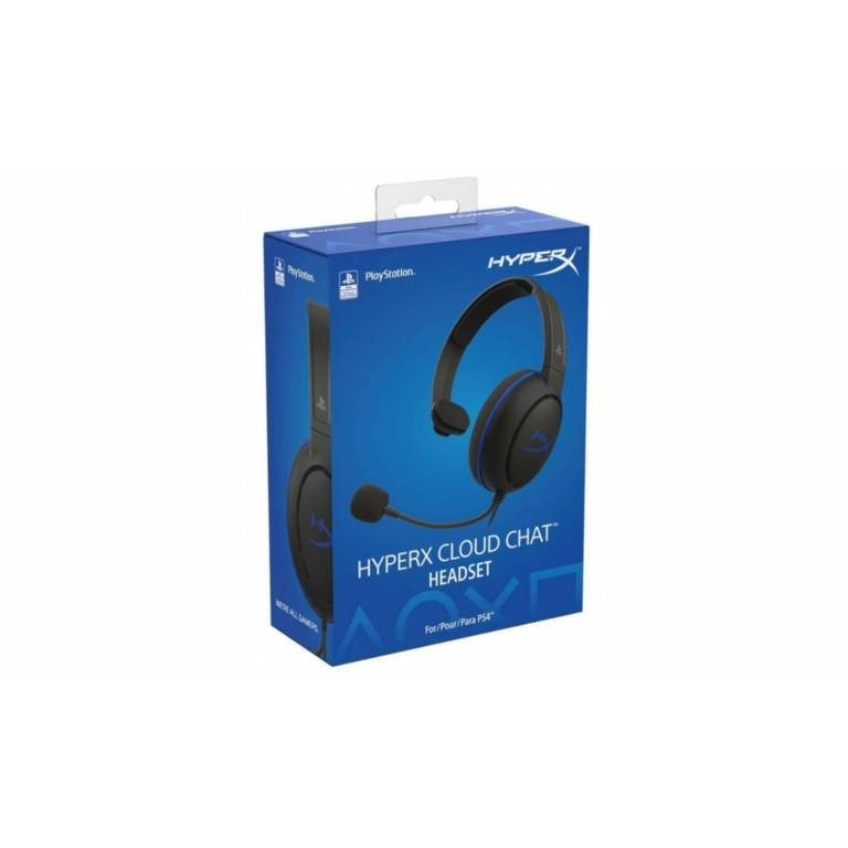 Auricular PS4 HyperX Cloud Chat Headset