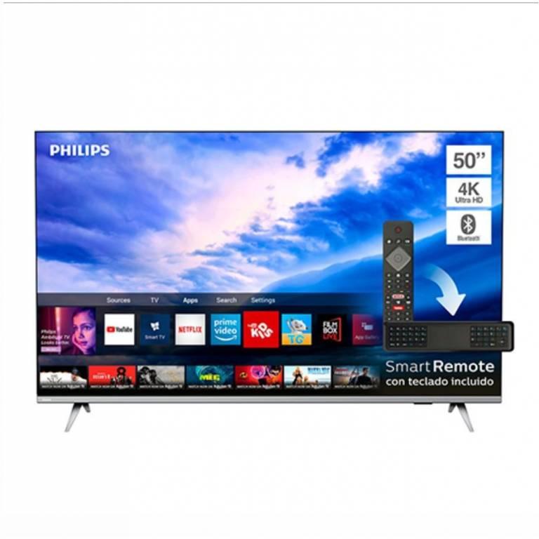 TV LED 50´´ Philips UHD Smart 4K (50PUD6654/55)