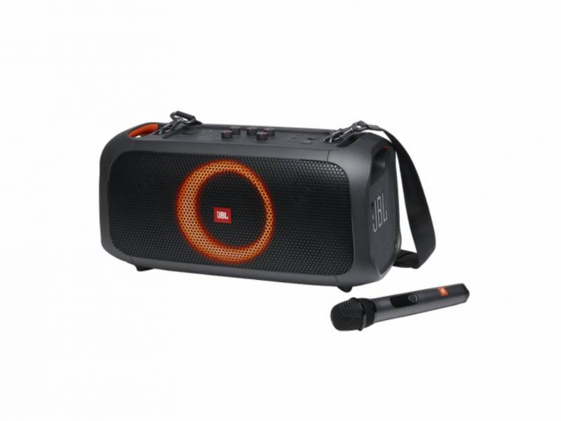 Parlante JBL Bluetooth PartyBox On the GO Black