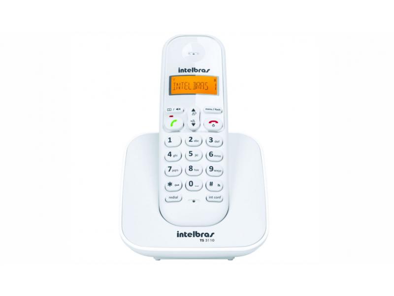 Telefono Inalambrico Intelbras (TS 3110) Blanco