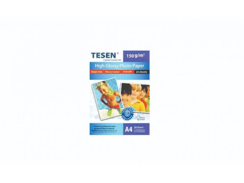 Papel Tesen Fotografico A4 150gr x 20
