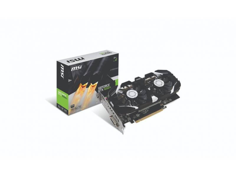 Tarjeta Video 4GB MSI Geforce GTX1050Ti DDR5