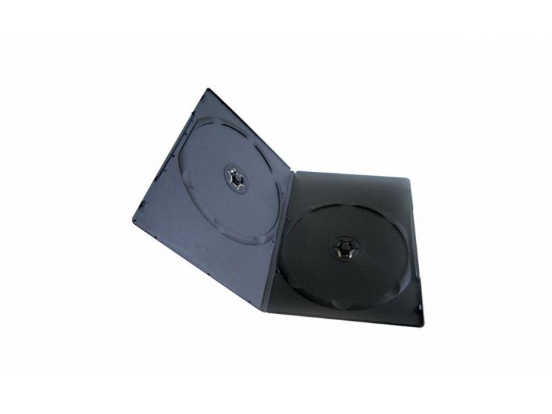 Cajas Plasticas DVD Slim Doble 7mm