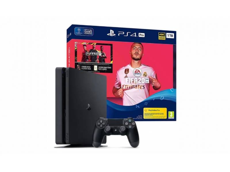 Playstation 4 1TB + 1 Joystick/Fifa 2020