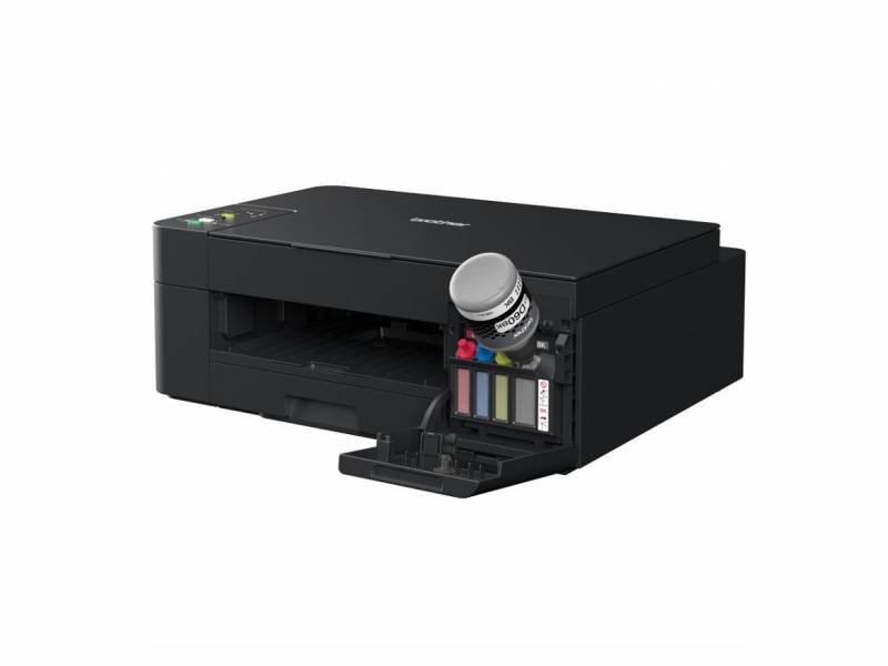 Impresora Chorro Tinta Color Brother Multifuncion C/Sistema Continuo Original DCPT420 Wifi